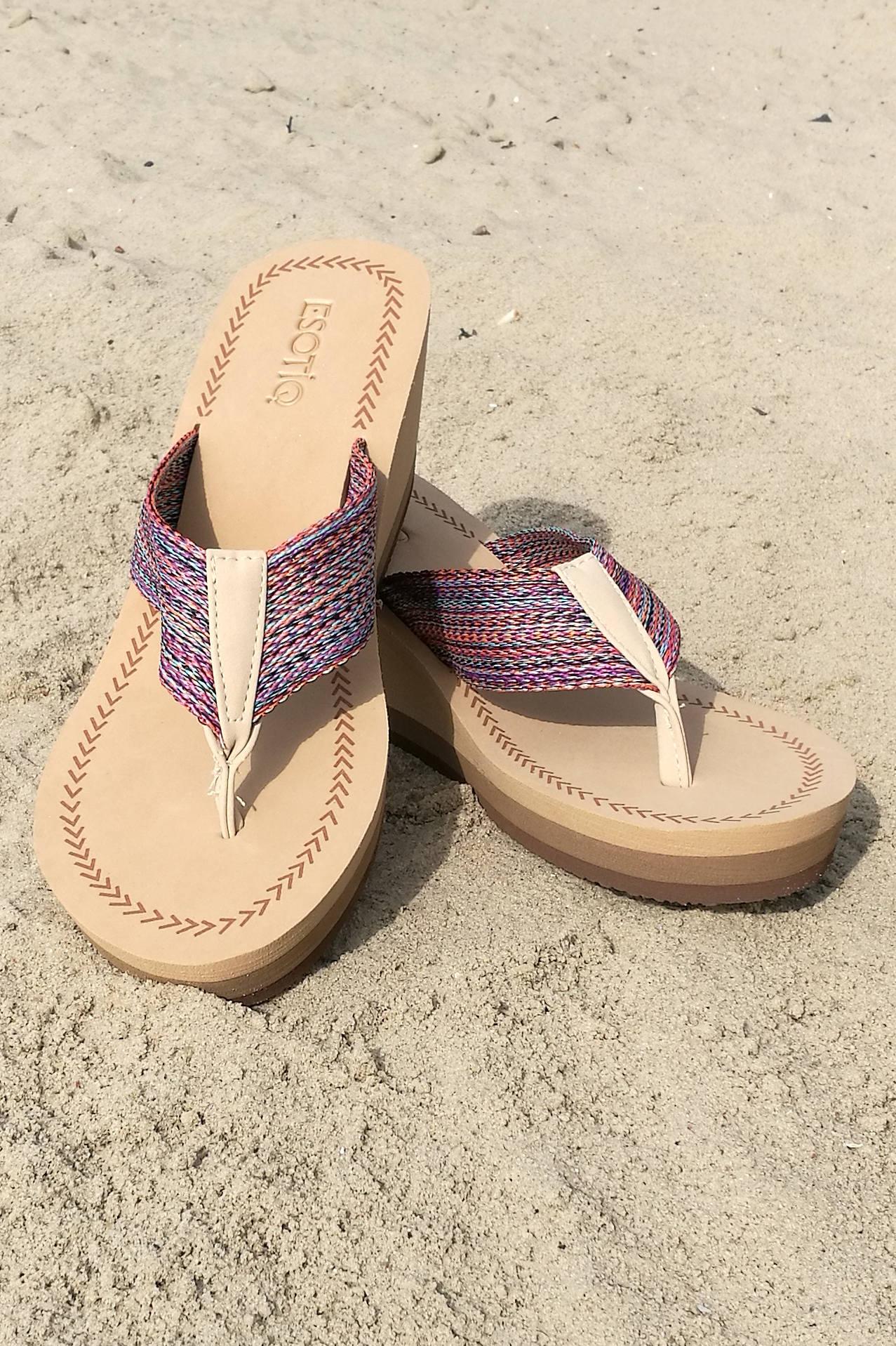 Klapki plażowe ESOTIQ Alama