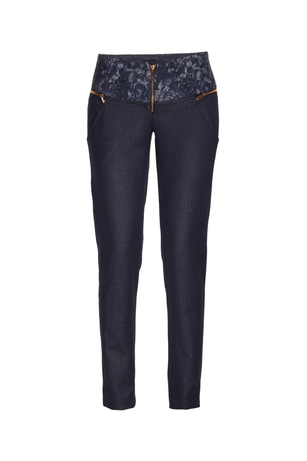 Spodnie z wzorem EVA MINGE