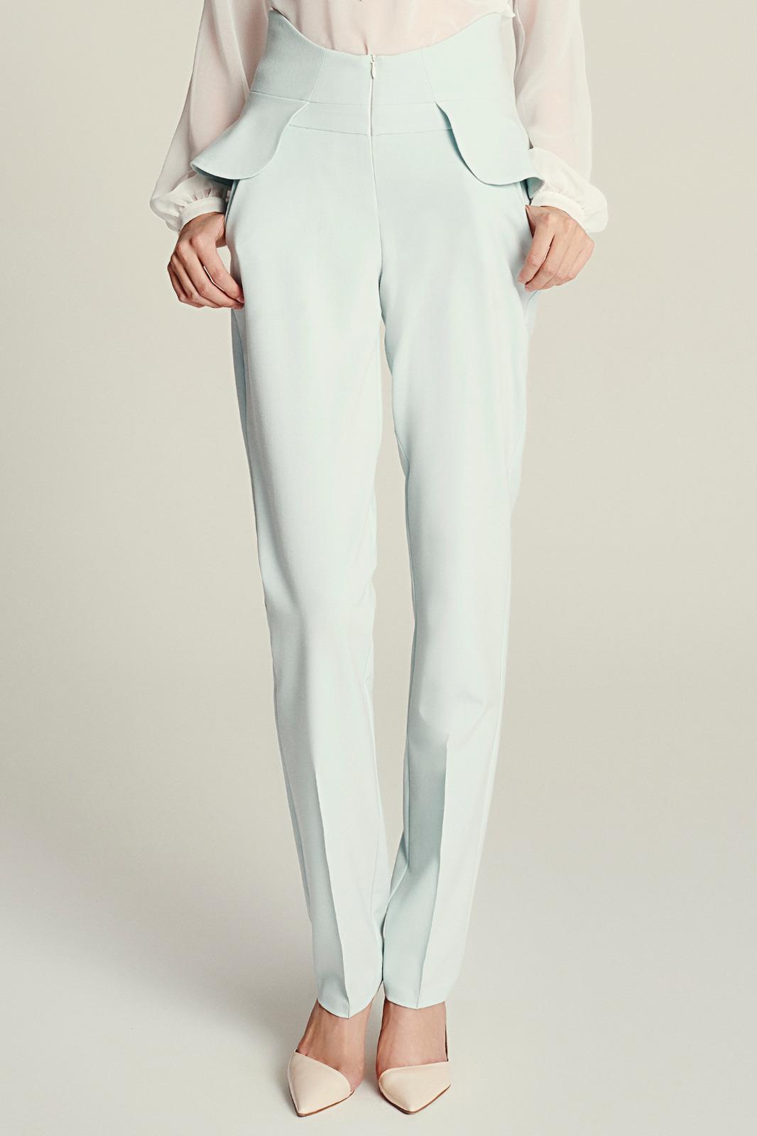 Spodnie z falbaną EVA MINGE